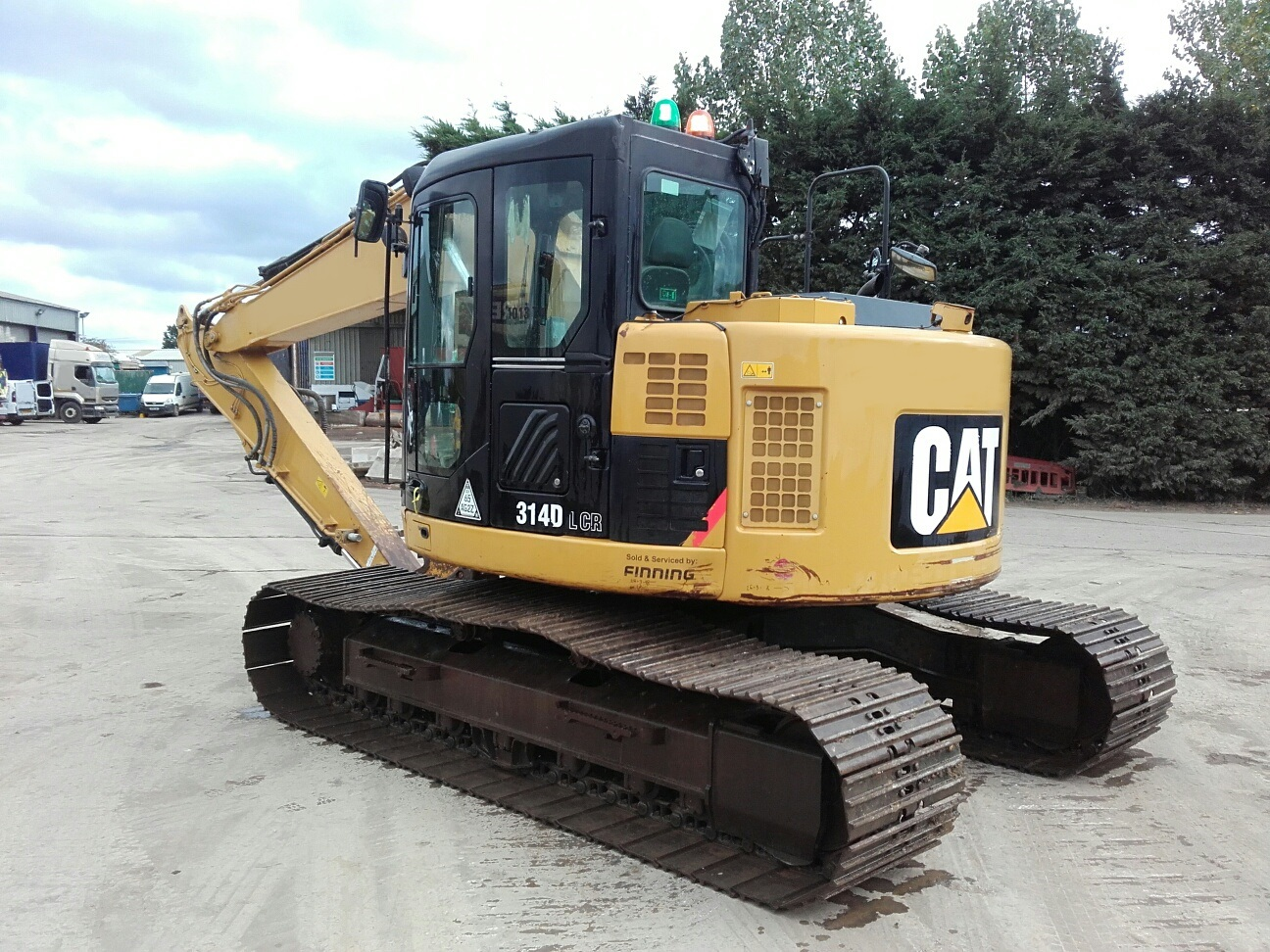 hight resolution of description used caterpillar 314d