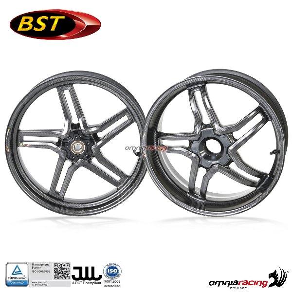 BST coppia cerchi in fibra carbonio per Ducati 748 916 996