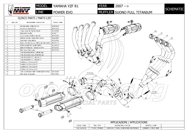 Mivv Suono Evo Titanium Full Exhaust System Not
