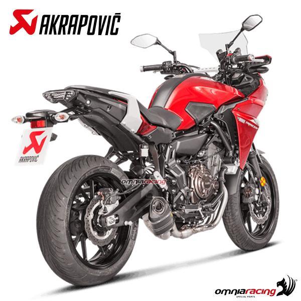 Akrapovic Racing Line Impianto di Scarico Carbonio Non omologato per Yamaha MT09 Tracer 700 16