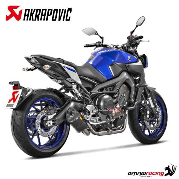 Akrapovic Carbon - Yamaha Fz-09 Fz9 Mt-09 2014 14 Racing Line Full Exhaust System - S-y9r2-afc - Full