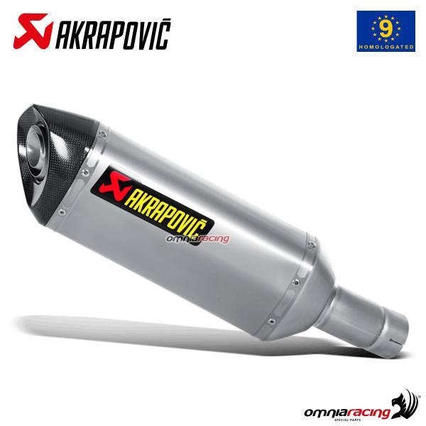 akrapovic exhaust approved titanium for suzuki gsxr1000 l2 2012 2016