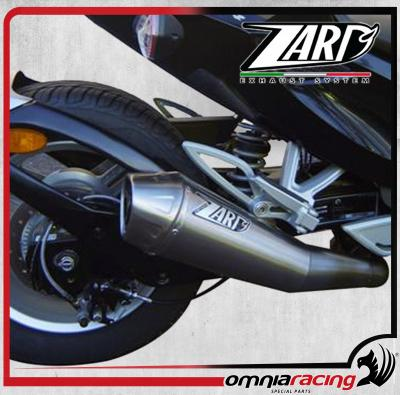 zard conical steel racing slip on exhaust for can am spyder 1000 2007 07