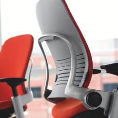 Desk Chair Leans Forward Eames Molded Top 16 Best Ergonomic Office Chairs 2019 Editors Pick Steelcase Leap Fabric