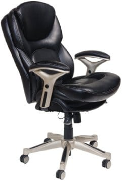 leather chair office 2 pc rocking cushions top 16 best ergonomic chairs 2019 editors pick serta mid back