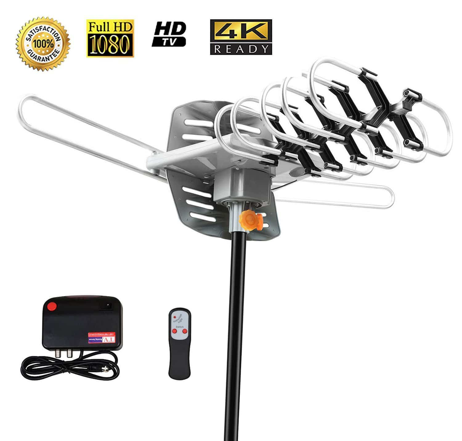 hight resolution of sobetter amplified outdoor digital tv antenna 4k ready
