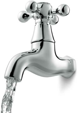 A photo of a tap