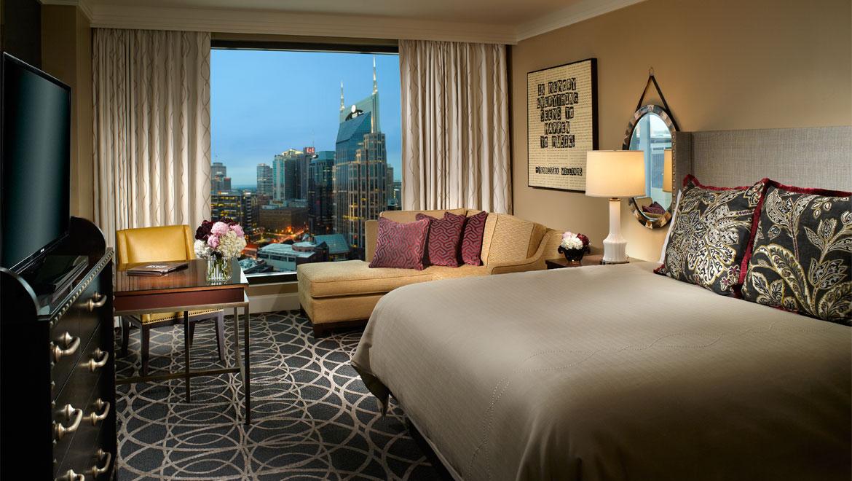 Suites in Nashville TN  Omni Nashville Hotel