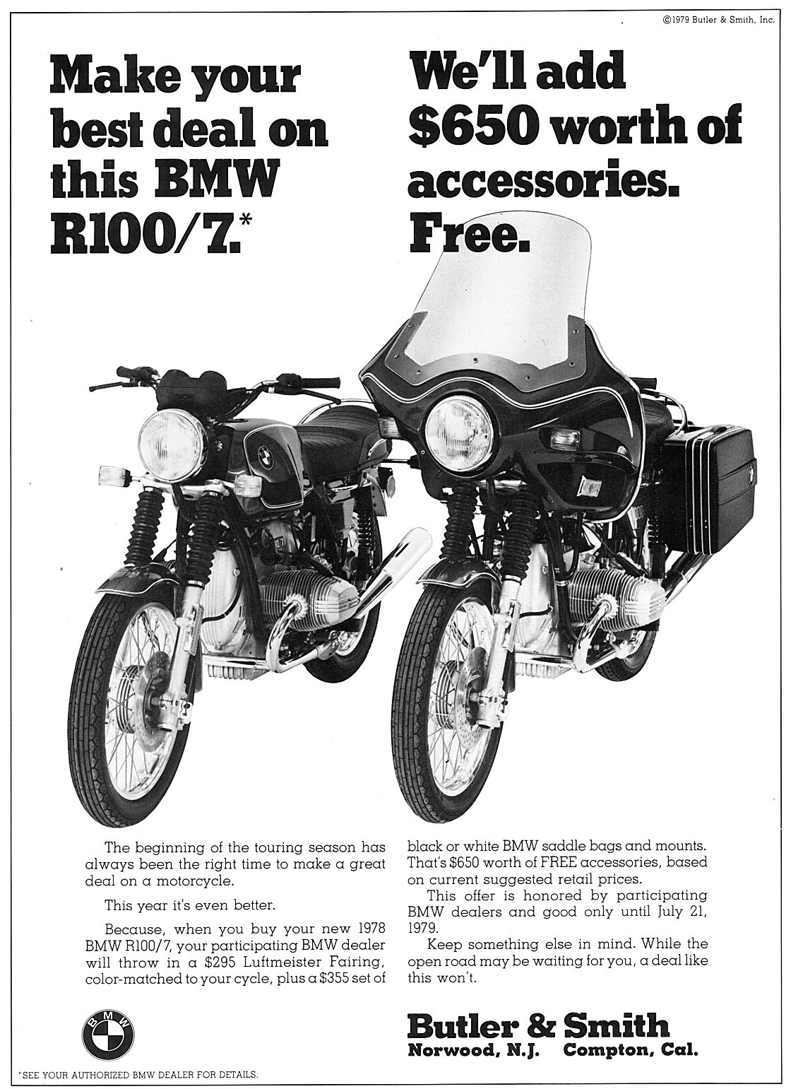 Late '70s BMW Motorcycle Ephemera