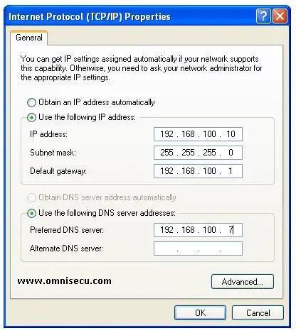 Solarwinds tftp server tcpip settings