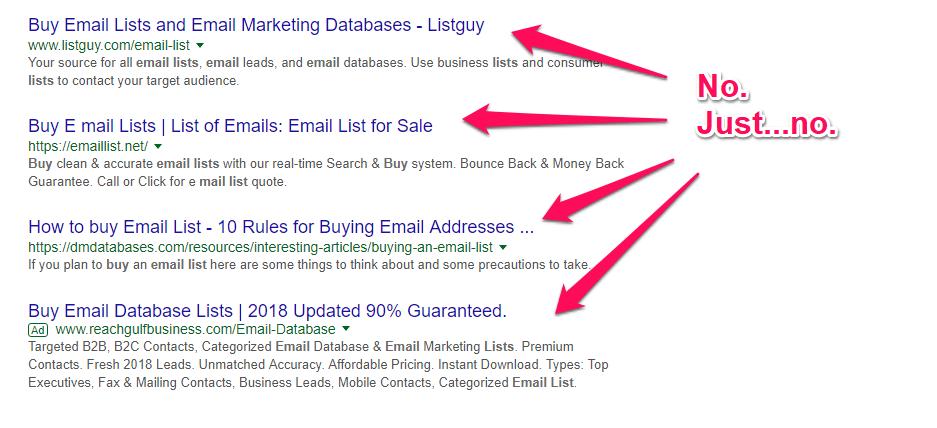 Proven Email List-Building Techniques
