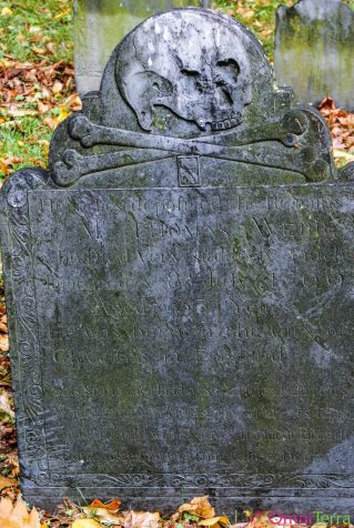 Boston-Cimetière Granary Burying Ground