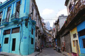 Cuba - Havane - Centre - Maisons coloniales