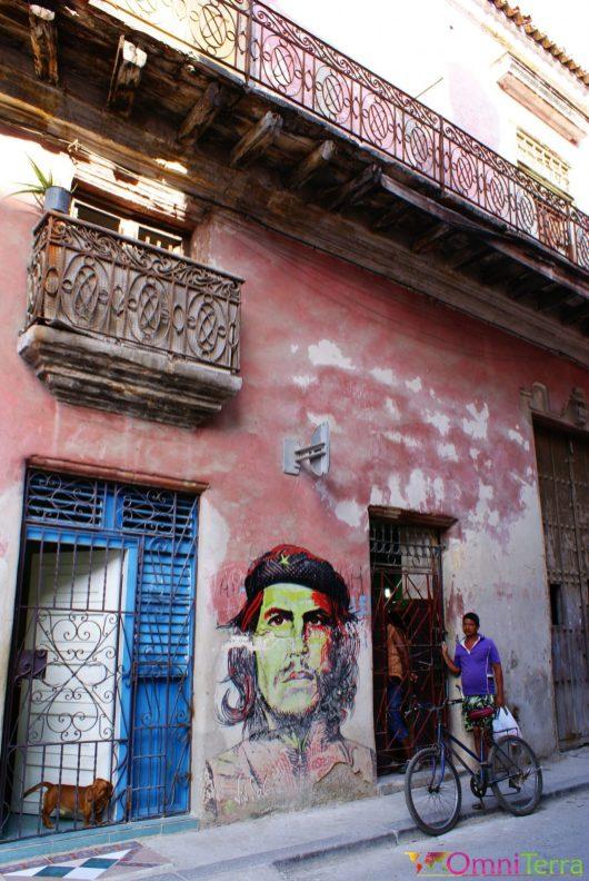 Cuba - Havane - Havana centro - Tag Che Guevara