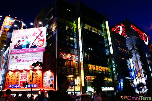 Japon - Akihabara - Enseignes lumineuses