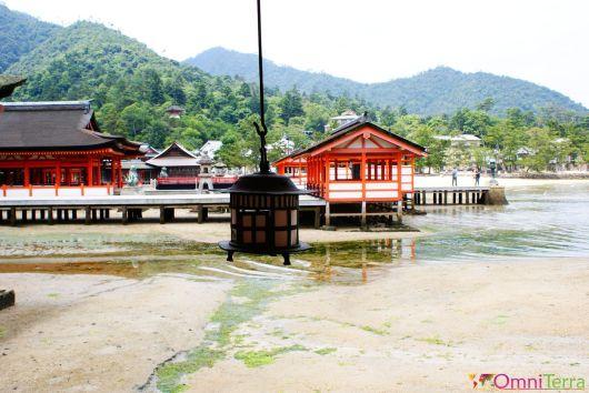 Japon - Île de Miyajima - Temple