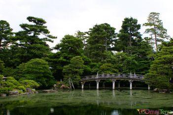 Japon - Kyoto - Les jardins impériaux - Lac