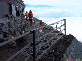 Japon - Mont Fuji - 8e station