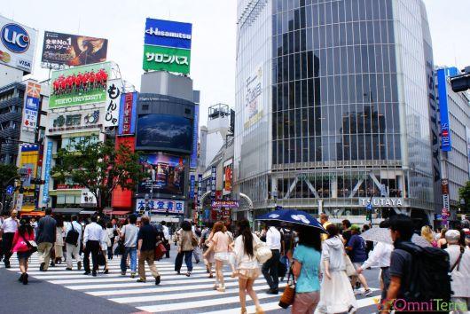 Japon - Shibuya - Passage piéton
