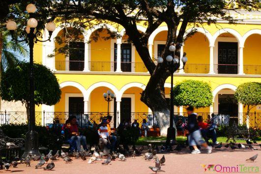 Mexique - Campeche - Zocalo