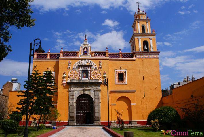 Mexique - Cholula - Eglise - Entrée