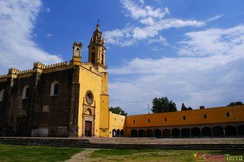 Mexique - Cholula - Eglise - Extérieur
