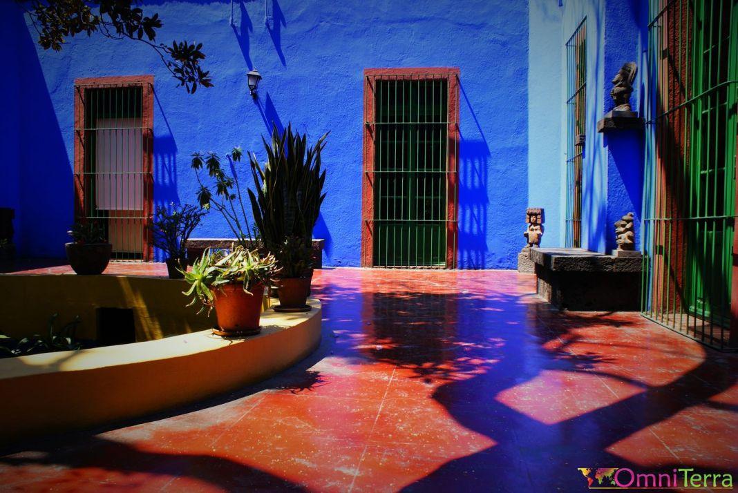 Mexique - Coyoacan - Casa Azul - Cours