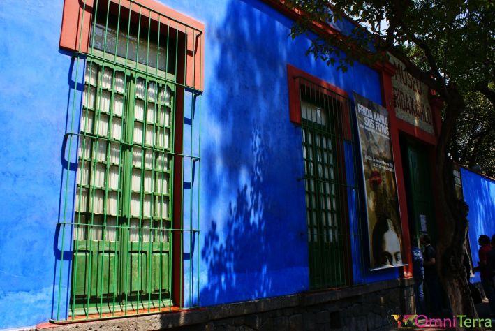 Mexique - Coyoacan - Casa Azul - Extérieur