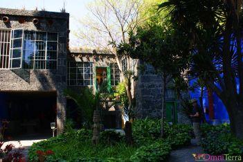 Mexique - Coyoacan - Casa Azul - Jardin