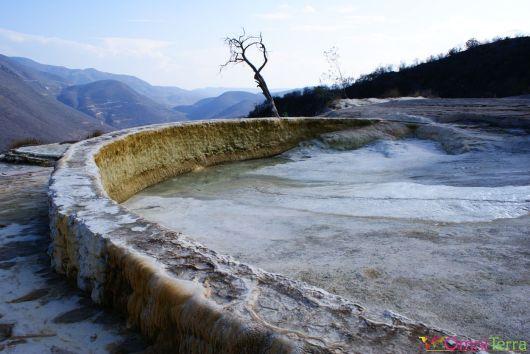 Mexique - Hierve del Agua - La cascade pétrifiée - Concrétions