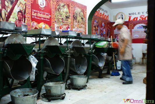 Mexique - Oaxaca - fabrique de chocolat la Soledad
