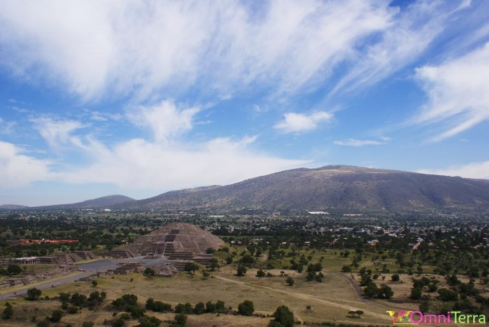 Mexique - Teotihuacan - Panorama