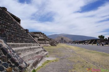 Mexique - Teotihuacan - Pyramides