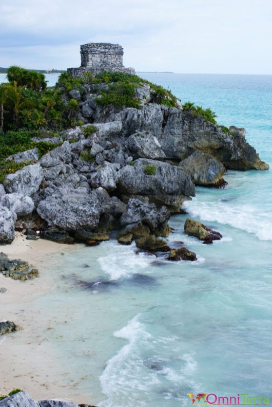 Mexique - Tulum - Ruines et plage