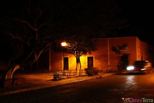 Mexique - Valladolid - Parc la nuit