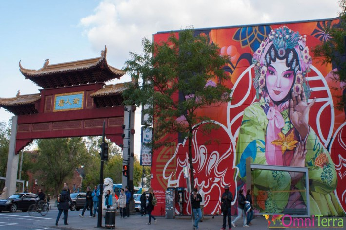 Montréal - Murale - Quartier Chinois