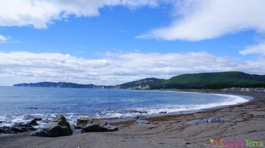 Québec - Gaspésie - Cap des Rosiers - Plage et panorama