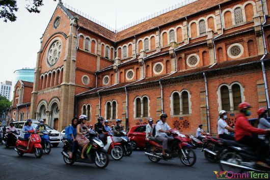 Vietnam - Ho Chi Minh - Cathédrale
