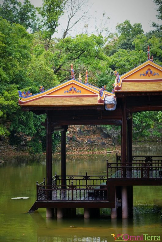 Vietnam - Hué - Tombeau de l'empereur Tu Duc