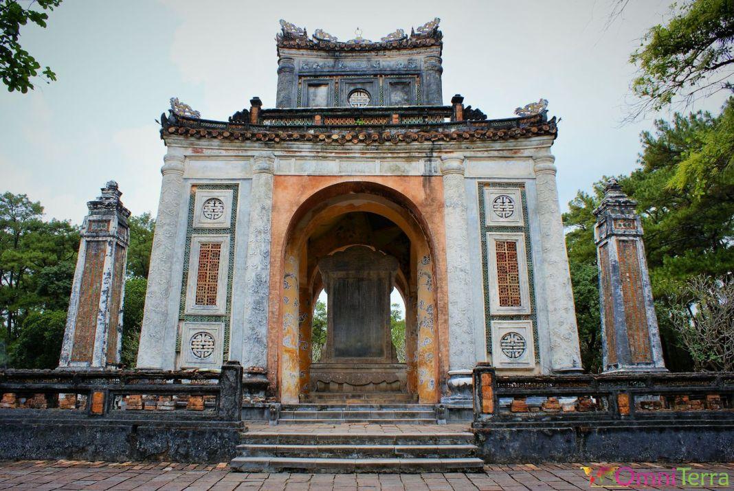 Le tombeau de l'empereur Tu Duc