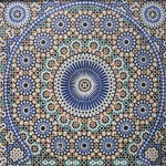 Céramique arabe - motif égométrique