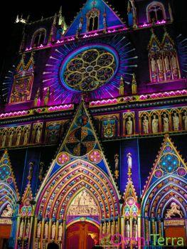 Lyon - Fête des Lumières - Cathédrale St Jean