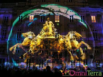 Lyon - Fête des Lumières - Place Terreaux 2