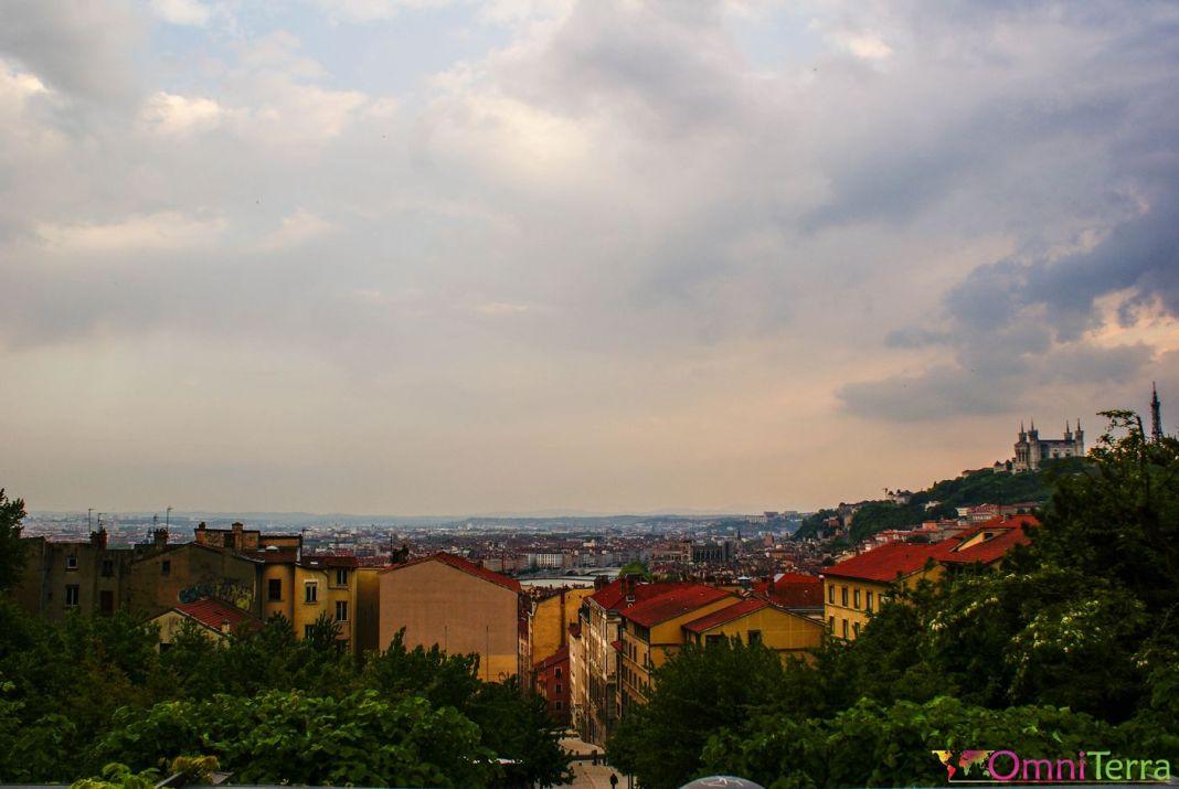 Lyon - Panorama Croix Rousse