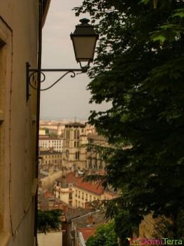 Lyon - Vieux Lyon - Montée colline de Fourvière