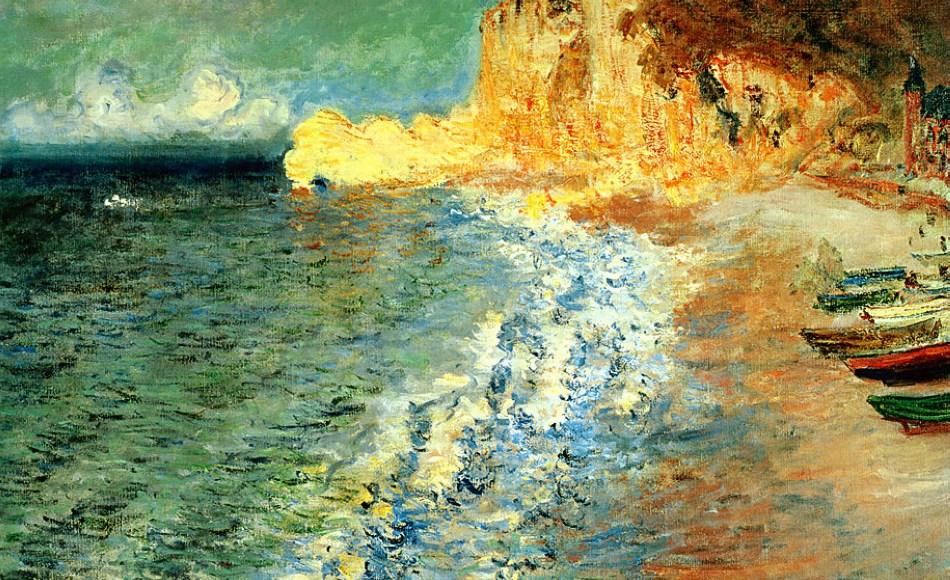 Matin à Étretat - Claude Monet
