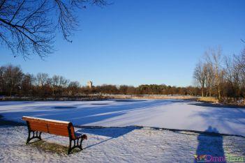 Montréal - Jardin botanique en hiver