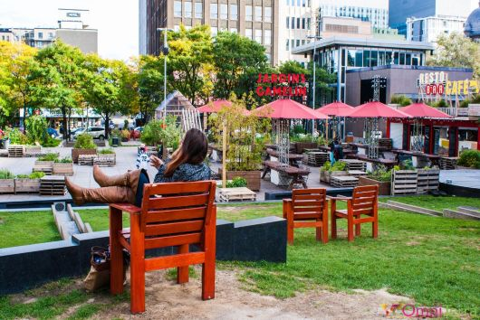 Montréal - Jardins Gamelin