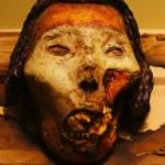 Visage momifié