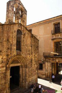 Barcelone-Barri-Gotic-Maison-de-l'archidiacre-Facade